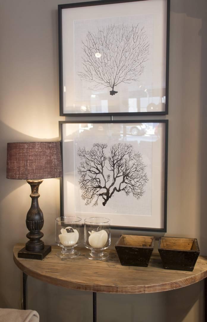 Cuadros, espejos y maderas