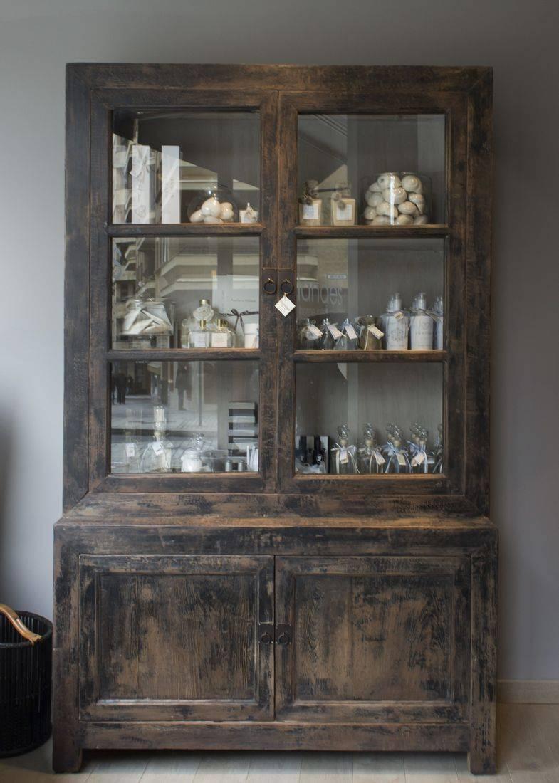 Vitrinas, librerias y armarios